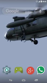 Helicopter Explosion LW poster