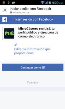 MicroCaceres screenshot 1
