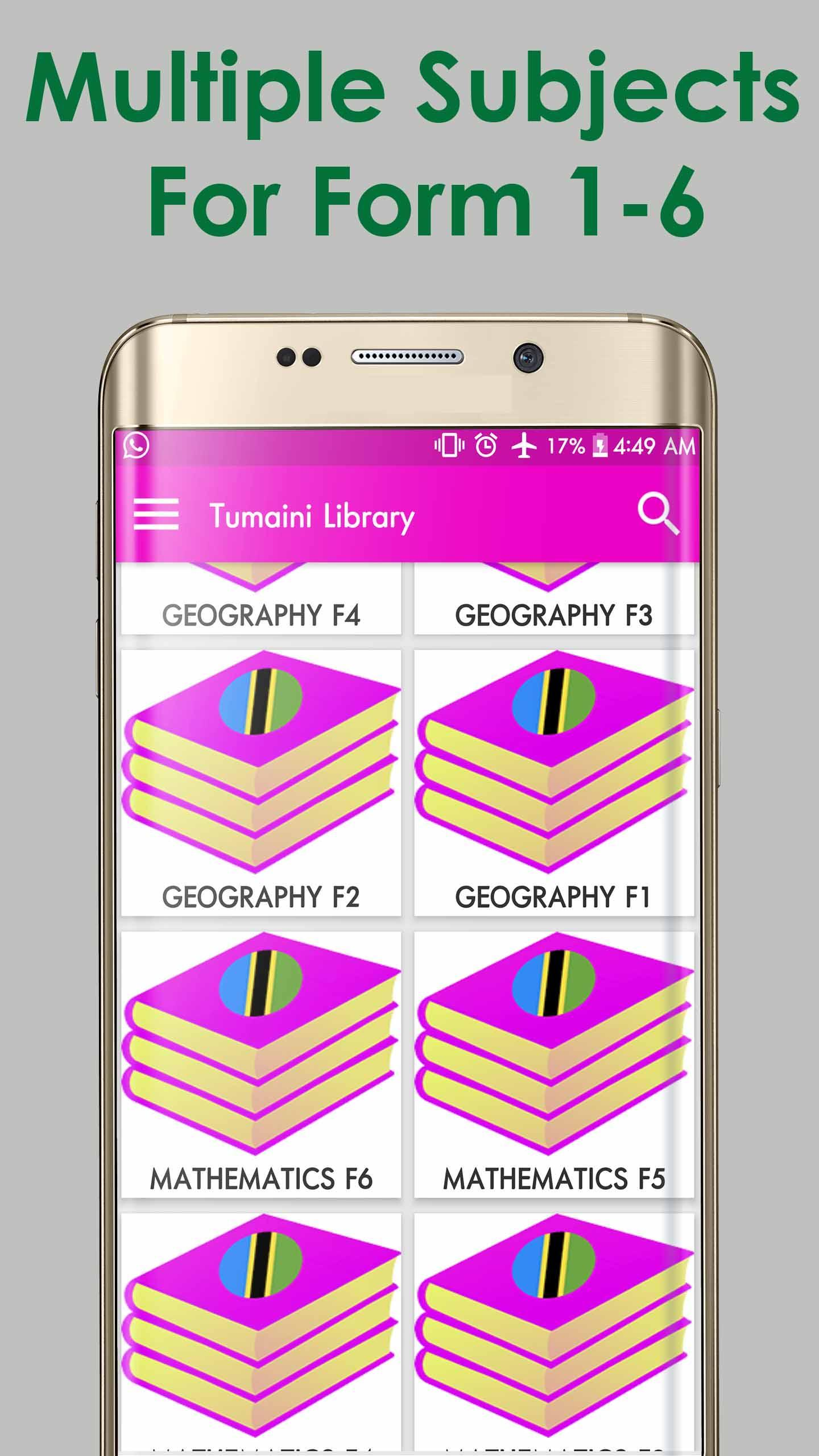Tumaini Library for Android - APK Download