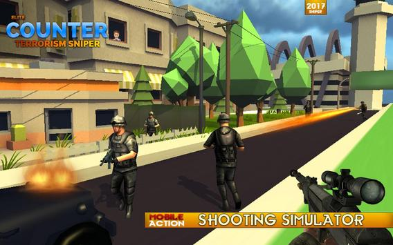 Elite Counter Terrorism Sniper screenshot 16