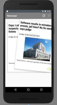 Newswipr-Curated media for you (Unreleased) apk screenshot