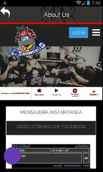 El ShowChito Radio screenshot 1