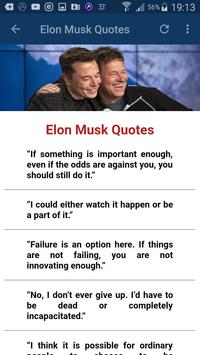 Elon Musk Quotes screenshot 23