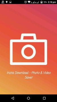 Insta Download - Photo & Video Saver poster