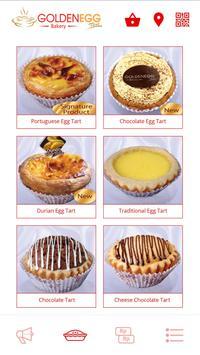 Golden Egg Tart (by idekuliner) poster
