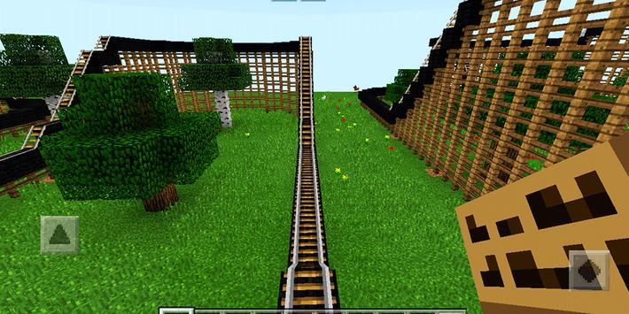 Epic Coaster. MCPE map apk screenshot
