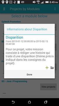 EpiDroid apk screenshot