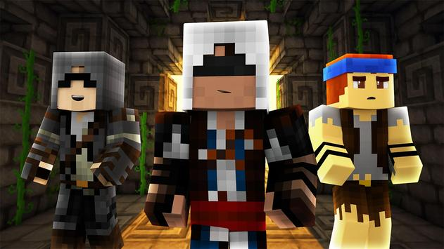 Assassin Skins For Minecraft For Android APK Download - Assassin skins fur minecraft