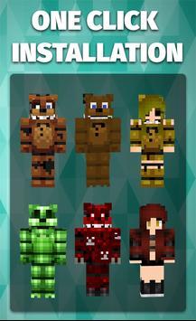 Skins FNAF for Minecraft screenshot 1