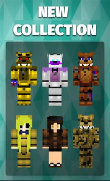 Skins FNAF for Minecraft screenshot 2