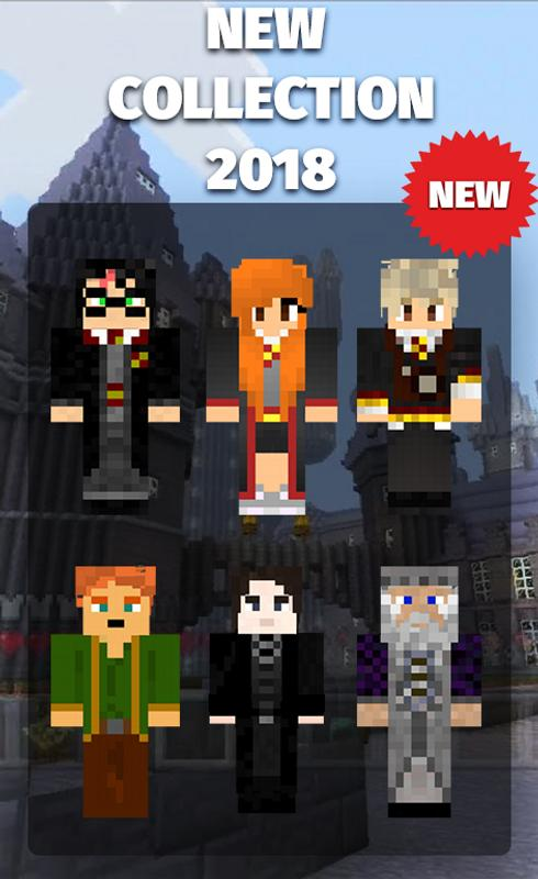 Skins Harry Potter For Minecraft For Android APK Download - Harry potter skins fur minecraft