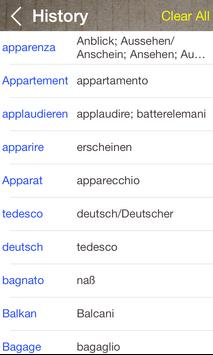 German Italian Dictionary & Translator Free screenshot 4