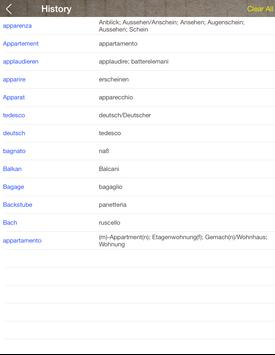 German Italian Dictionary & Translator Free screenshot 9