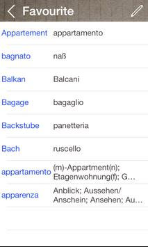 German Italian Dictionary & Translator Free screenshot 3