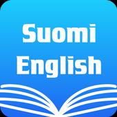 Finnish English Dictionary & Translator Free icon