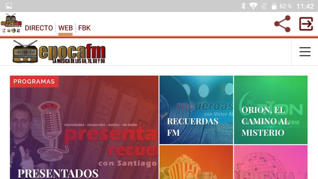 Epoca FM screenshot 5