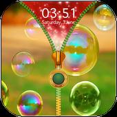 Bubble Zipper Lock Screen icon