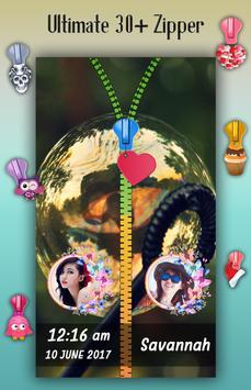 Bubble Zipper Lock Screen screenshot 3