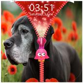 Dogs Zipper Lock Screen icon
