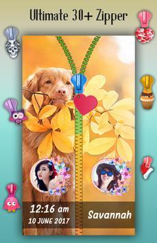 Dogs Zipper Lock Screen screenshot 3