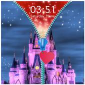 Dream Castle Zipper Lock Screen icon