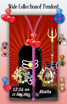 Lord Shiva Zipper Lock Screen screenshot 4