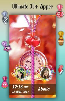 Pocket Watch Zipper Lock Screen apk screenshot