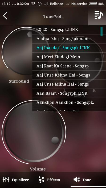 Fx Music Player Equalizer Screenshot 15