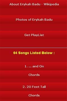 All Songs of Erykah Badu screenshot 2