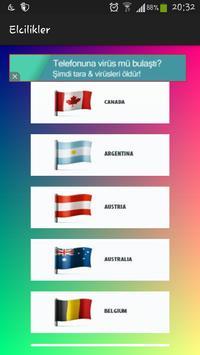 Elçilikler poster