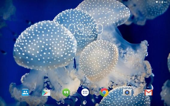 Jellyfish Medusa LiveWallpaper apk screenshot