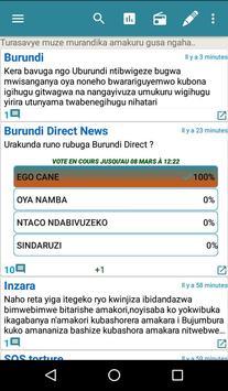 Burundi Direct Affiche