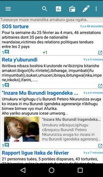 Burundi Direct capture d'écran 3