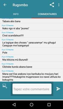 Burundi Direct capture d'écran 4