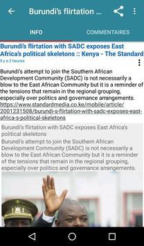 Burundi Direct capture d'écran 5
