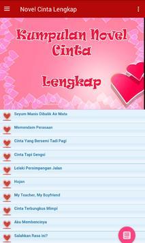 KUMPULAN NOVEL CINTA LENGKAP apk screenshot