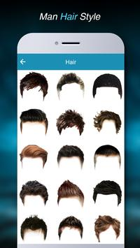 Man HairStyle Photo Editor apk screenshot