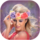 Flower Crown Photo Editor icon