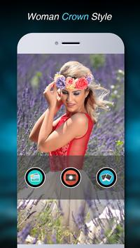 Flower Crown Photo Editor apk screenshot
