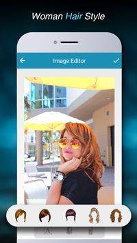 Woman HairStyle Photo Editor apk screenshot
