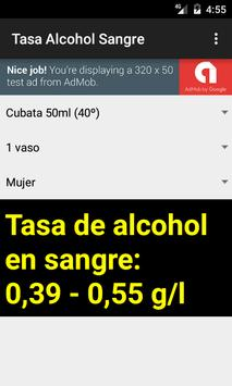 Tasa de Alcohol en Sangre screenshot 3
