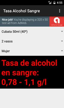 Tasa de Alcohol en Sangre screenshot 4