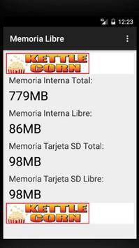 Memoria Libre de tu movil - Ahorra espacio screenshot 1