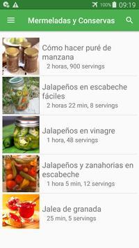 Recetas de mermeladas y conservas gratis español. screenshot 4