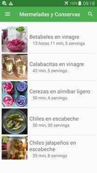 Recetas de mermeladas y conservas gratis español. poster