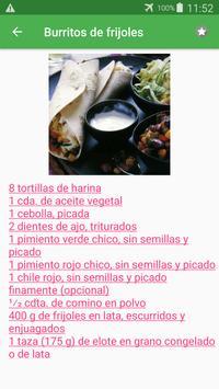 Recetas de antojitos gratis español sin internet. screenshot 1