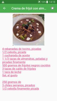 Recetas de frijoles y legumbres en español gratis. screenshot 3
