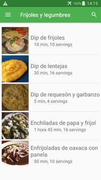 Recetas de frijoles y legumbres en español gratis. screenshot 4