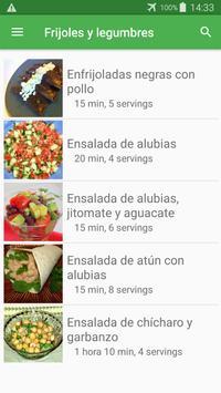 Recetas de frijoles y legumbres en español gratis. screenshot 6