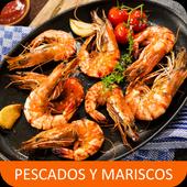 Recetas de pescados y mariscos en español gratis. icon